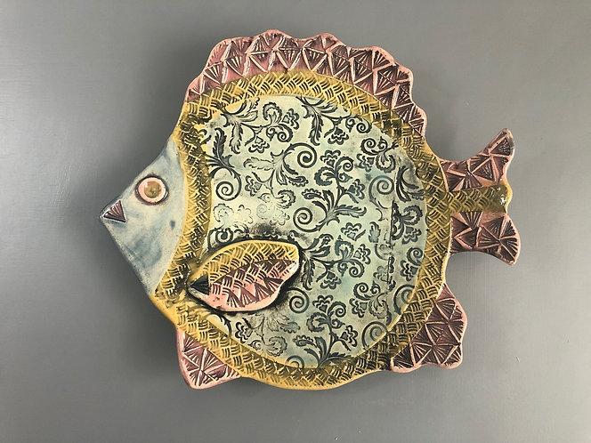 Fantasy Fish Plate
