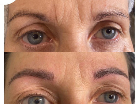Good and bad examples of Microblading, Feathering &  Cosmetic Tattooing