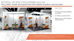 kit Roll Up y Folletero