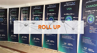 rollup, roll up,  roll ups, banner publicitario, banner potatil