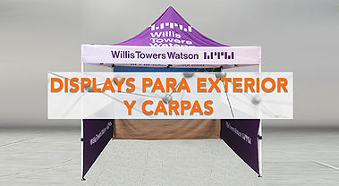displays exterior, stand exterior, exhibidor pop, diplay pulicitario, banderas, banderolas, publipop, display portatil, flag banner