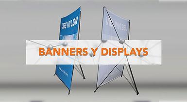 display publicitario, banner publicitario,  banner araña, x banner, display portatil