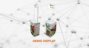 Demo stand, demodisplay, stadpara degustacion, stand portatil