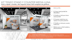 Tenso stand y Counter portátil