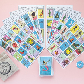 Immigrant artist gives classic game Lotería a 'Millennial makeover'