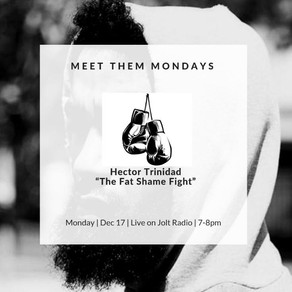 Meet Them Mondays: The Male Fat Shame Fight