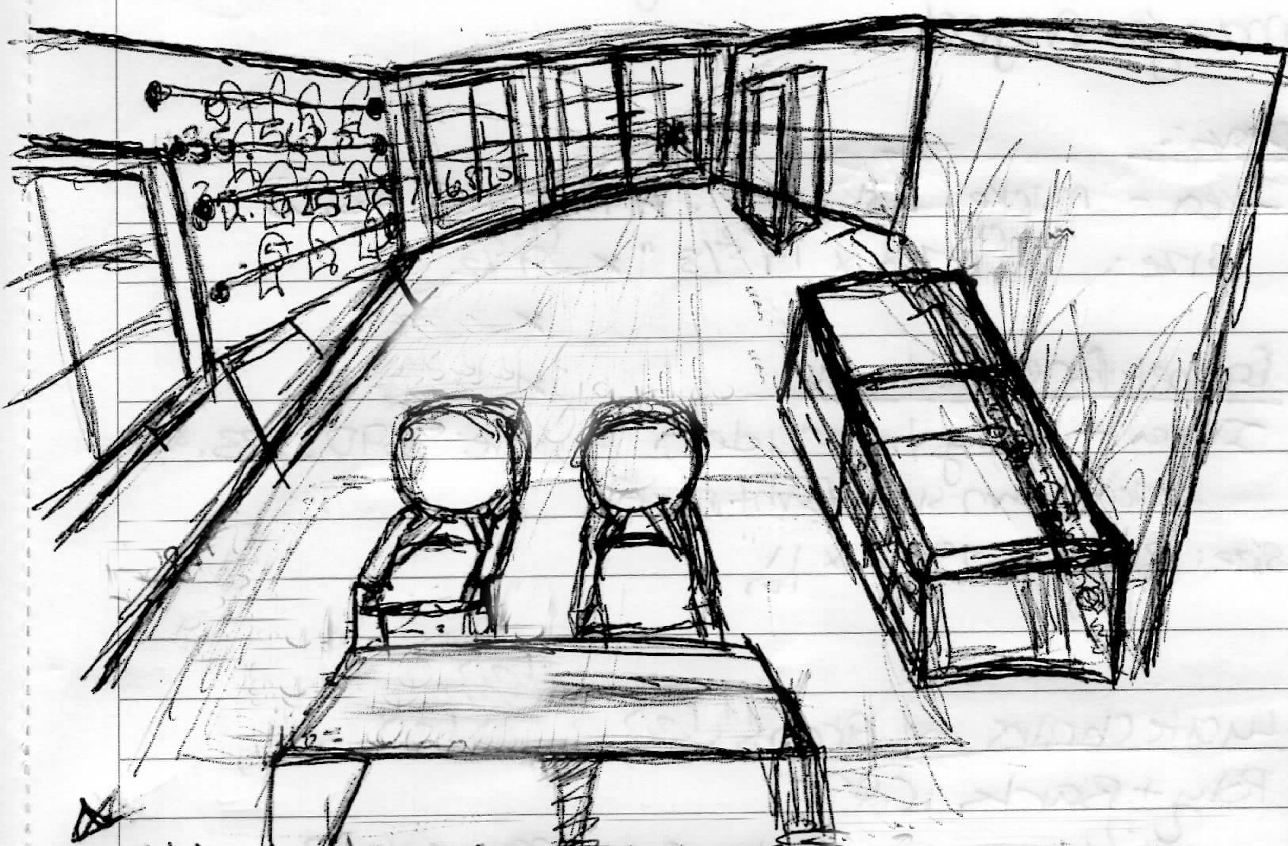 Conceptual Sketch- Treatment Room