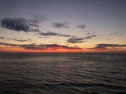 Sunset in Issos Beach