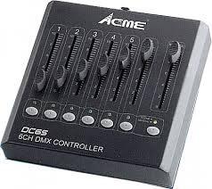 "DMX Controller 6CH ""ACME"" CA-DC6S"
