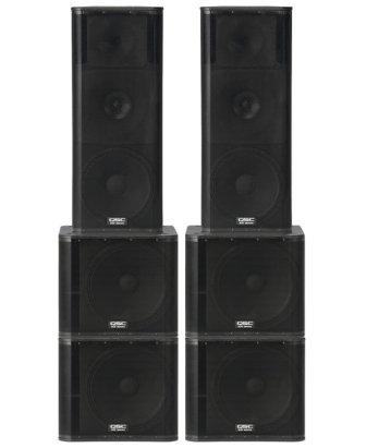 Lautsprecher-Komplettset XL