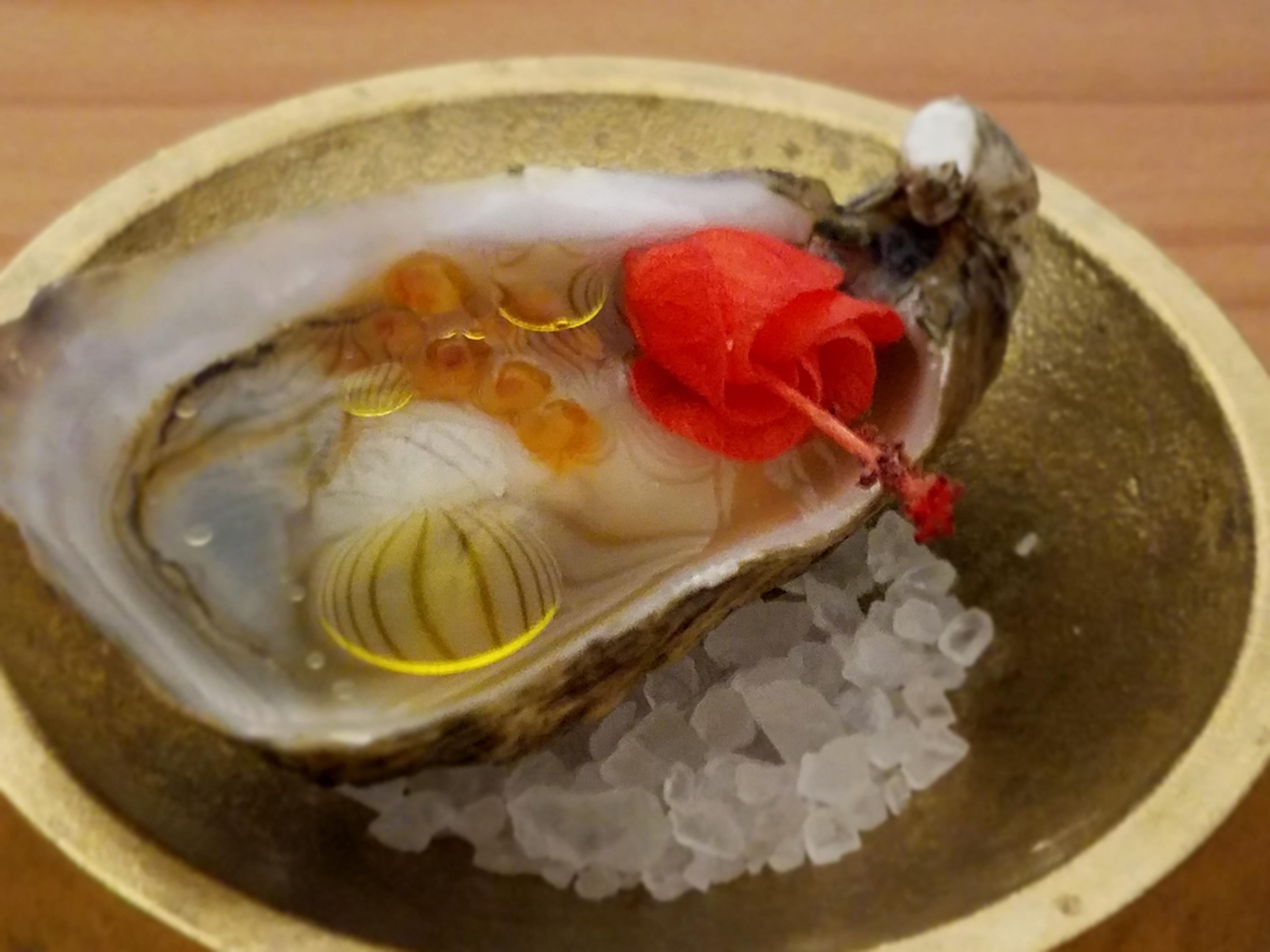 Finally a damn oyster