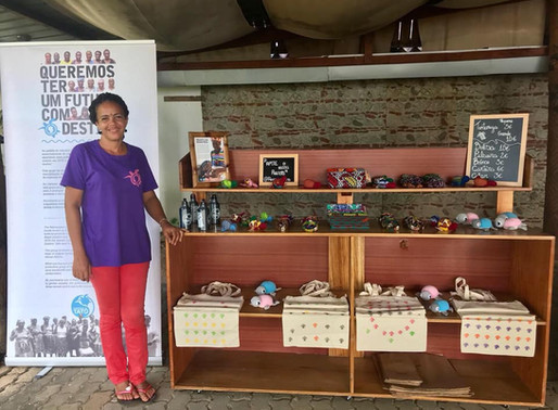 Já abrimos a Lojinha Tatô no Ilhéu das Rolas   Tatô shop just opened at Rolas Islet
