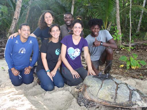 Projeto TAMAR Brasil em São Tomé e Príncipe