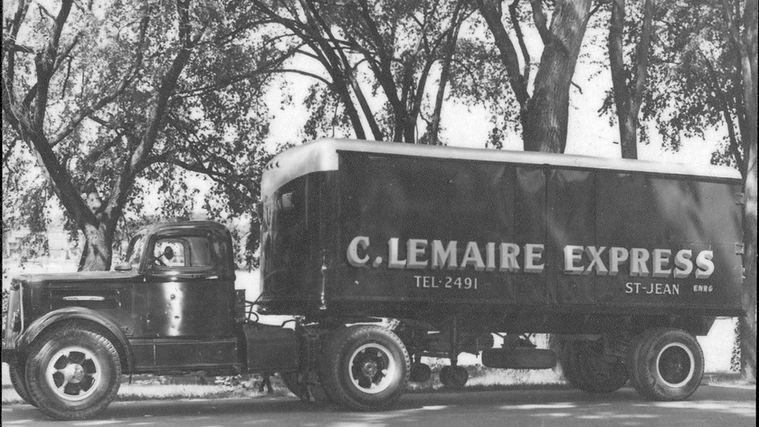 old lemaire truck