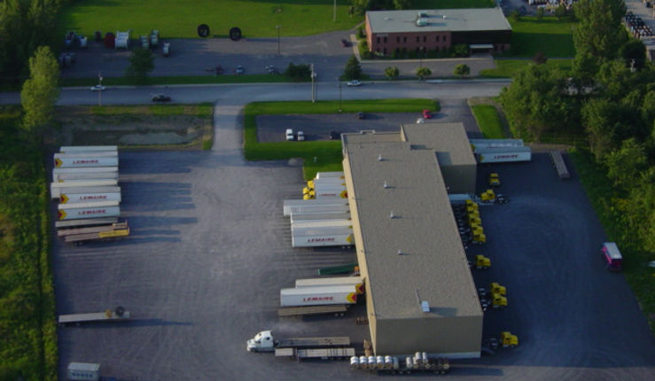 site and warehouse