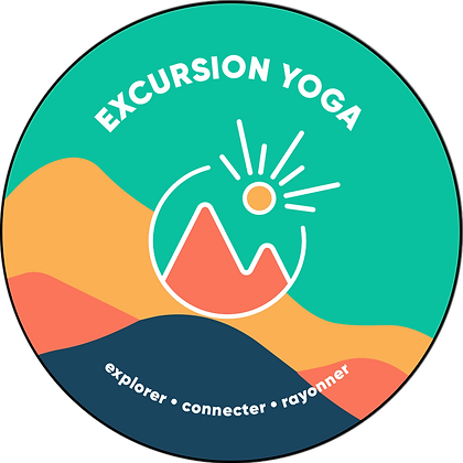Sticker Excursion Yoga