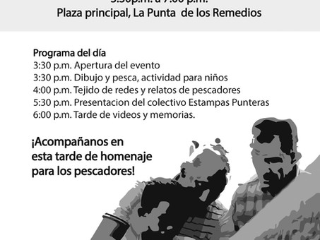 INVITACIÓN SOCIALIZACIÓN NOCHES DE FAENA