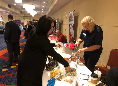 PNN exhibits at the Illinois County Clerks' Conference