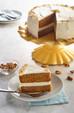 Sweet Potato Carrot Cake with Cream Cheese Vanilla Bean Frosting
