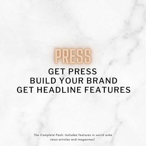 Press Relations and Media