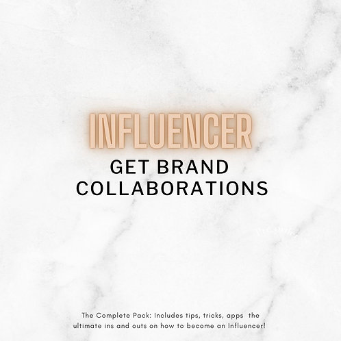 Get Collaborating With Brands Today