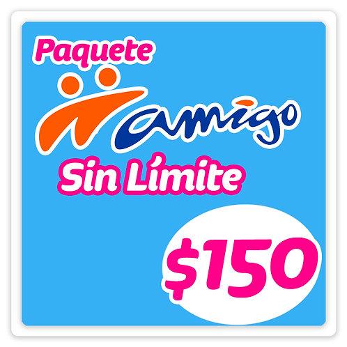 Paquete Amigo Sin Límite 150