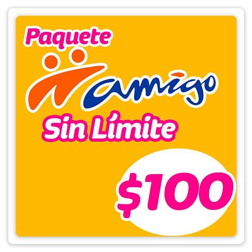 Paquete Amigo Sin Límite 100