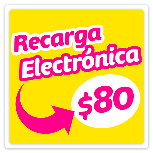 Recarga Electrónica 80