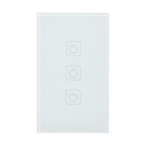 Interruptor Inteligente WiFi, 3 botones táctiles - Creator3