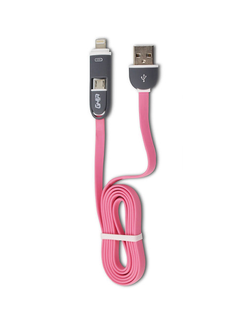 Cable USB 2 en 1