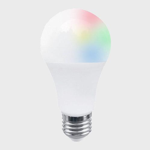 Kit de 3 focos LED Inteligentes, Luz de colores, Base E27, WiFi