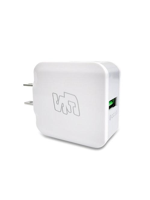 Adaptador Carga Rápida 3.0A USB