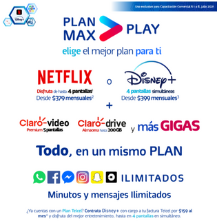 Elige tu Plan Max Play