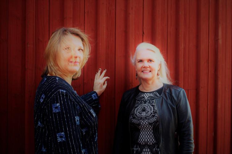 With soprano Birgitta Lindeke Levin