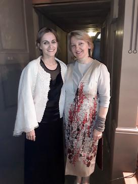 With soprano Gunta Gelgote