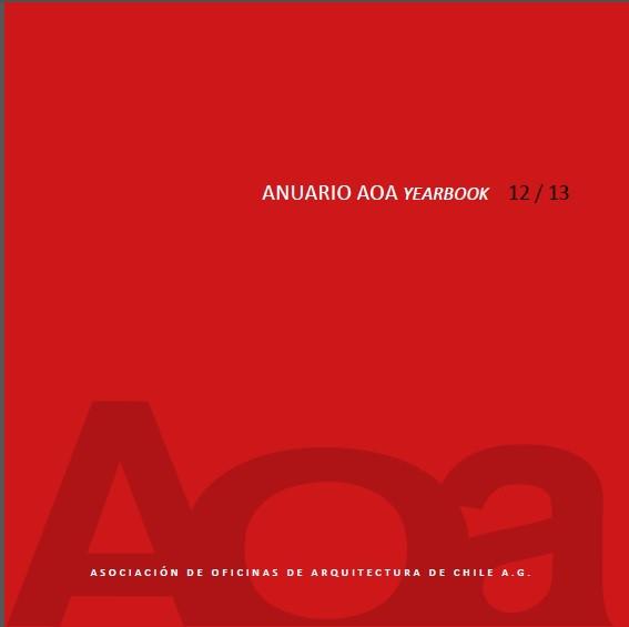 ANUARIO REVISTA AOA 2012 - 2013