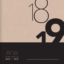 Anuario Revista AOA 2018 - 2019