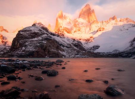Laguna de Los Tres, PN Los Glaciares.El Chalten. Argentina
