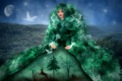 Dame des Waldes
