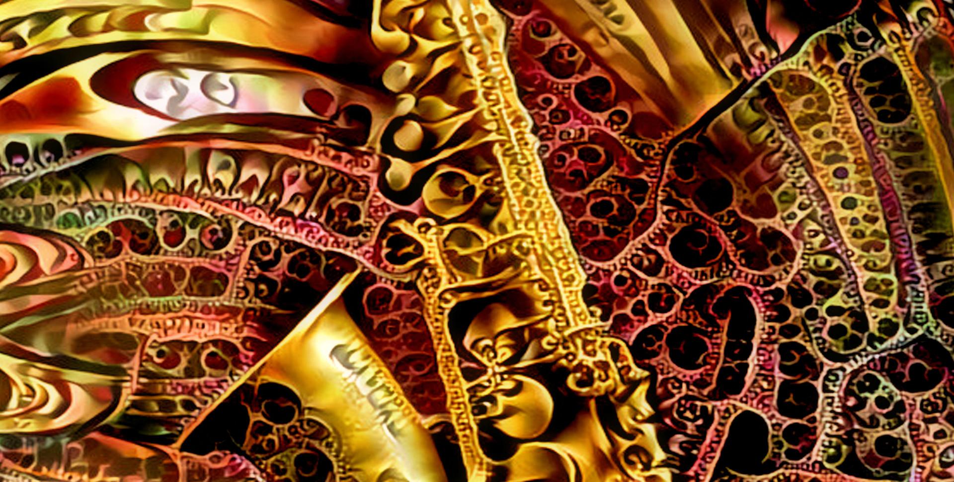 Ornamental Saxophon