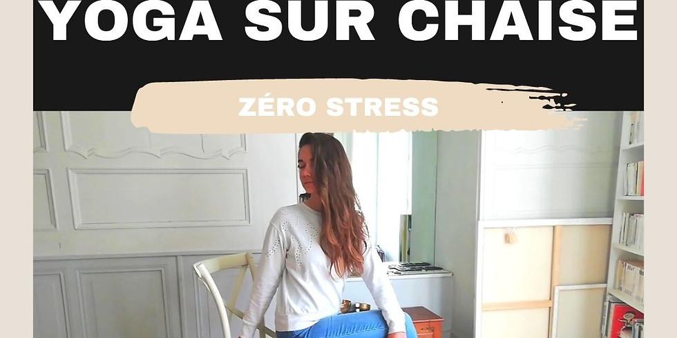 Zoom - Yoga sur Chaise - 05/04 - Zéro Stress