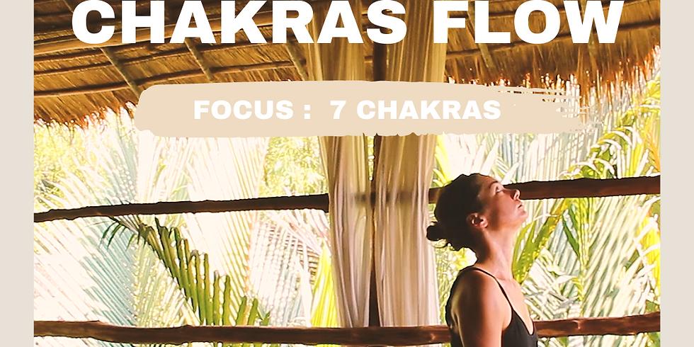 Zoom - Chakras Flow 10/03