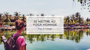 Se mettre au yoga nomade