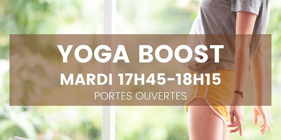 Yoga Boost - Mardi 7 sept