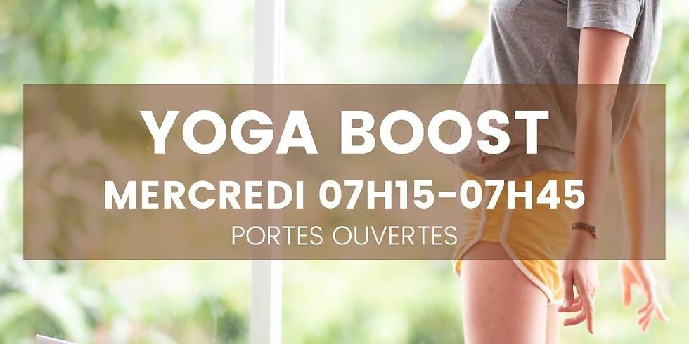 Yoga Boost - Mercredi 8 sept