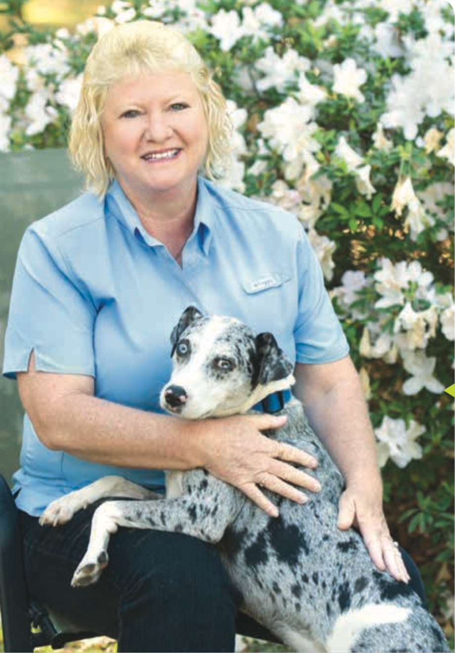 Once again able to walk her dog every day, Patty Lealy is enjoying life.