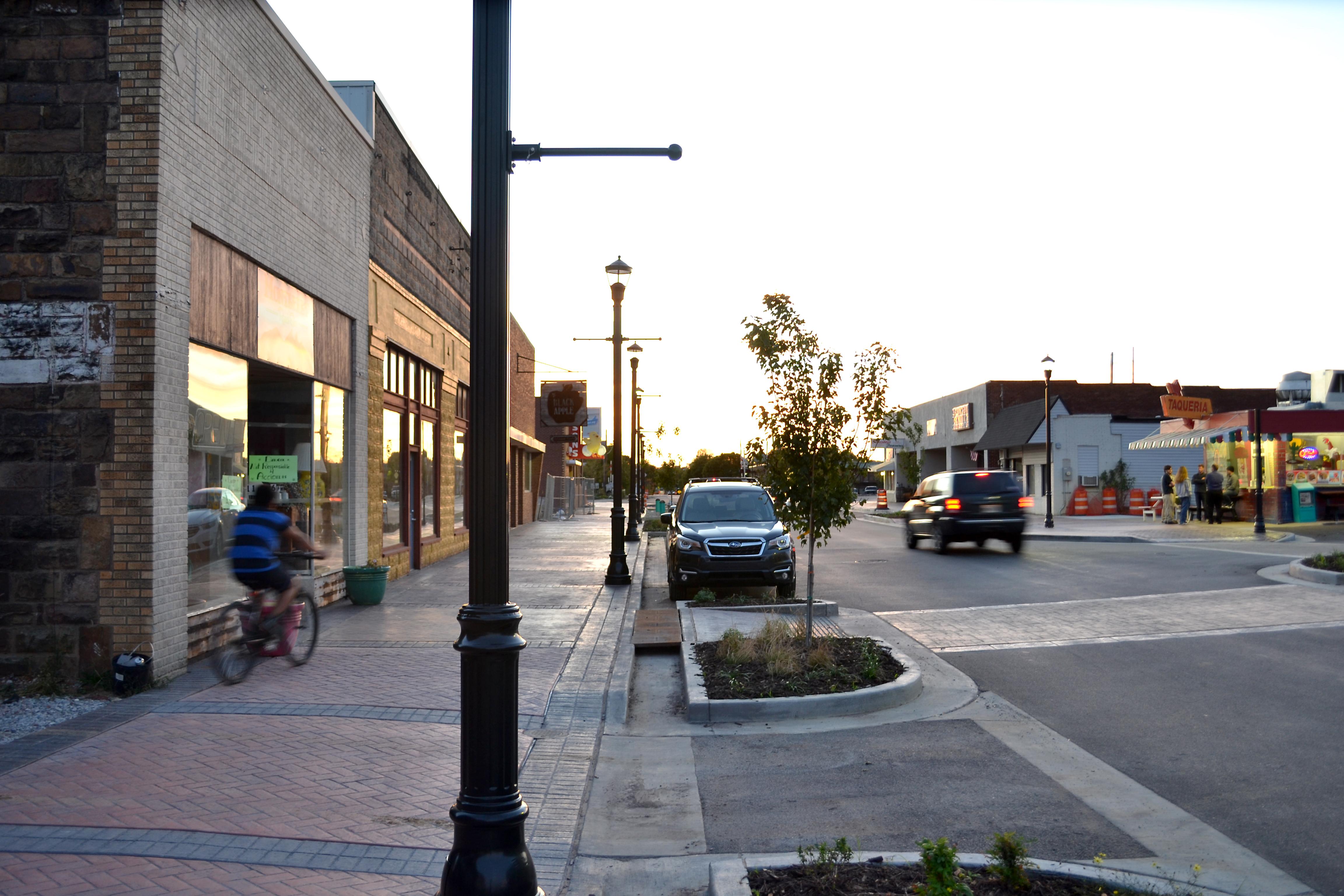 Emma Ave Streetscape