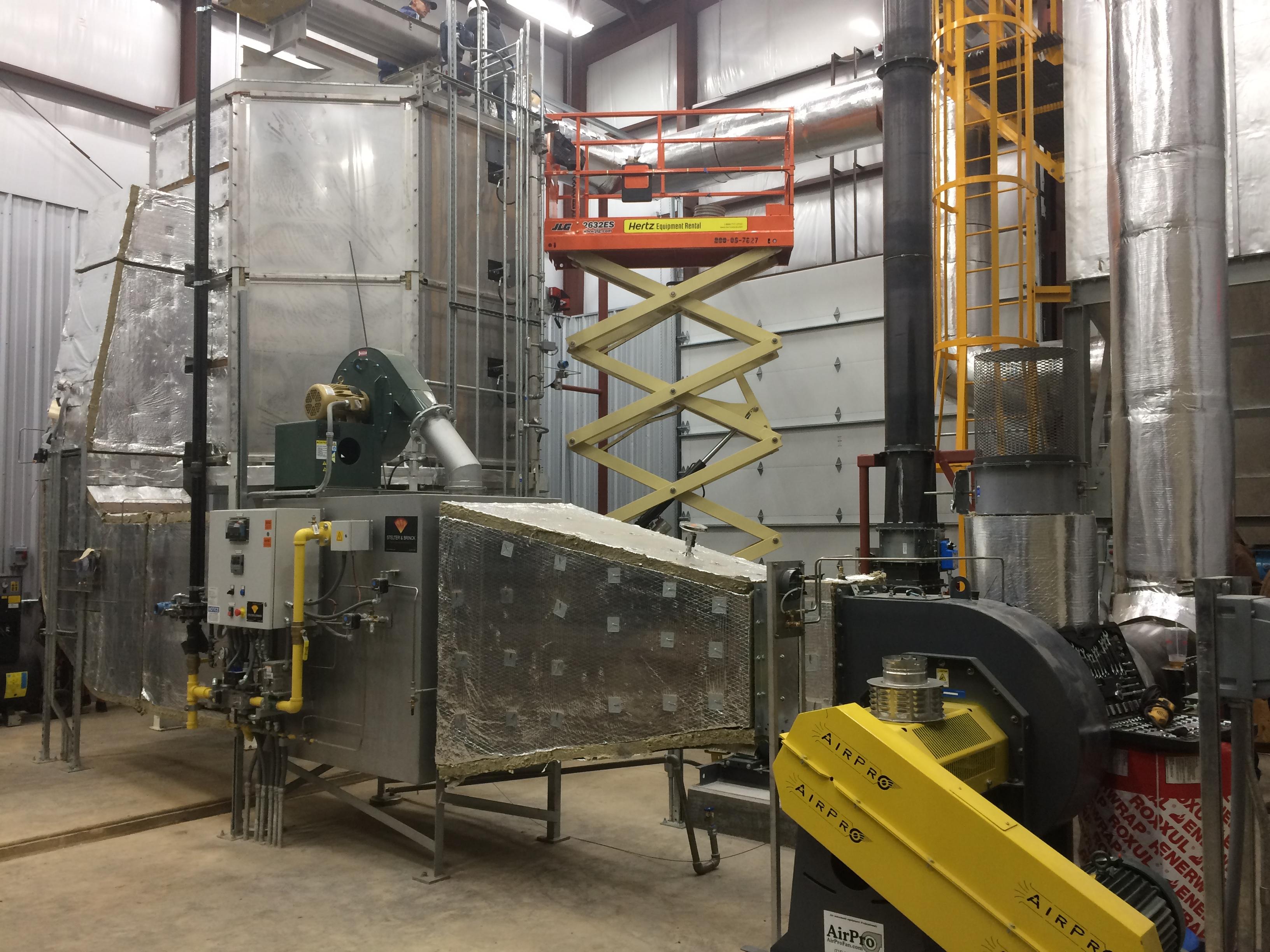 Huntsville Biosolids Dryer