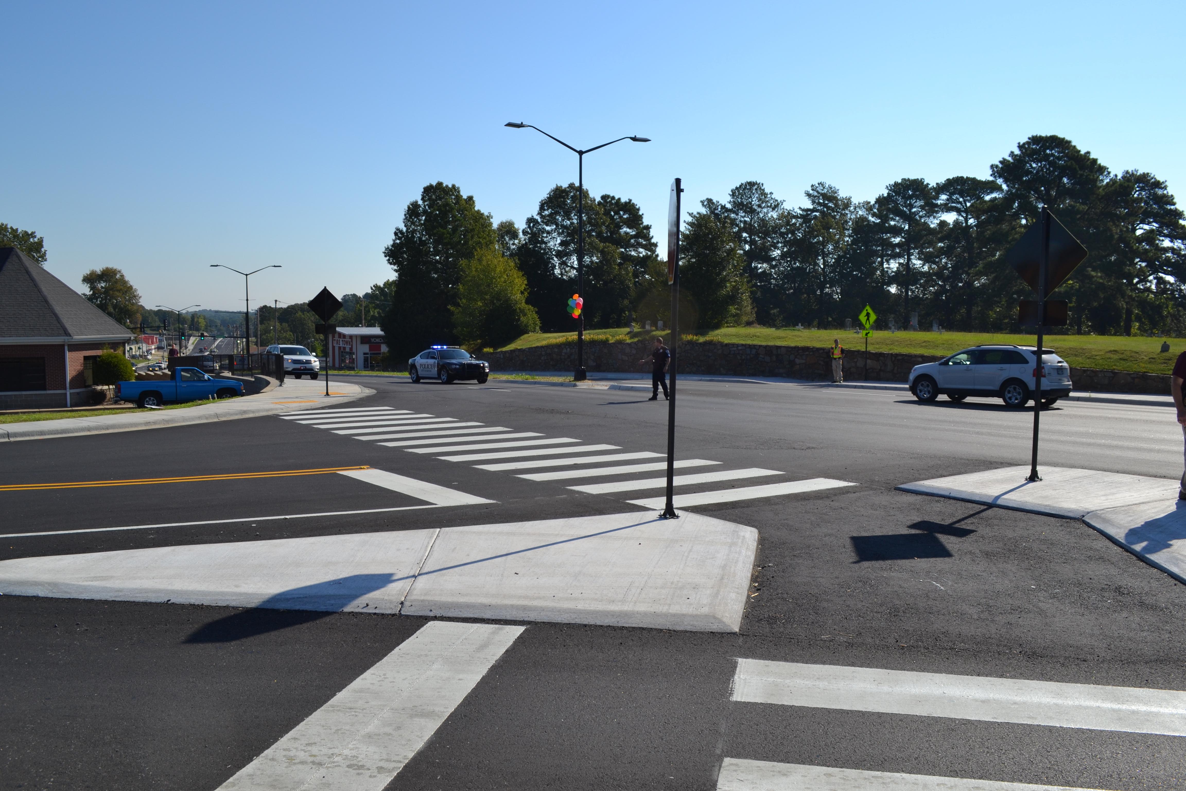 Benton Military Road Intersection