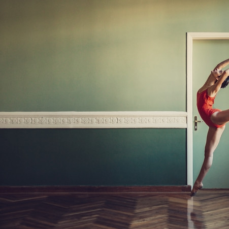 Ballet in an old building